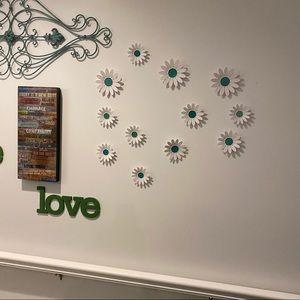 Set of 9 flower picture frames